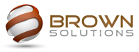 Brown Solutions – Your One Stop IT Solutions Provider Logo